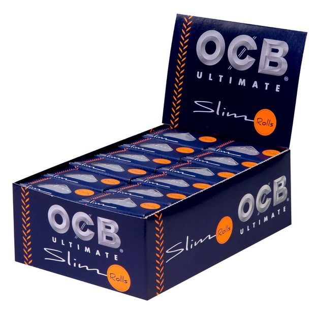 OCB Ultimate Rolls Continuous Paper 4m Ultrathin 1 box...