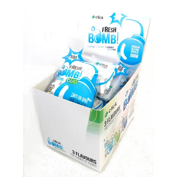 Fresh Bomb Click Filter Regular Menthol 8mm 1 Beutel