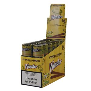 1 Box Cyclones King Size Cones WONDER pre-rolled flavoured