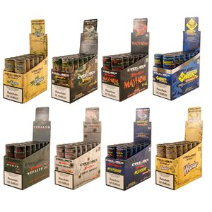 3 Boxes Cyclones XtraSlo Cones with wooden Tip 8 Flavours...
