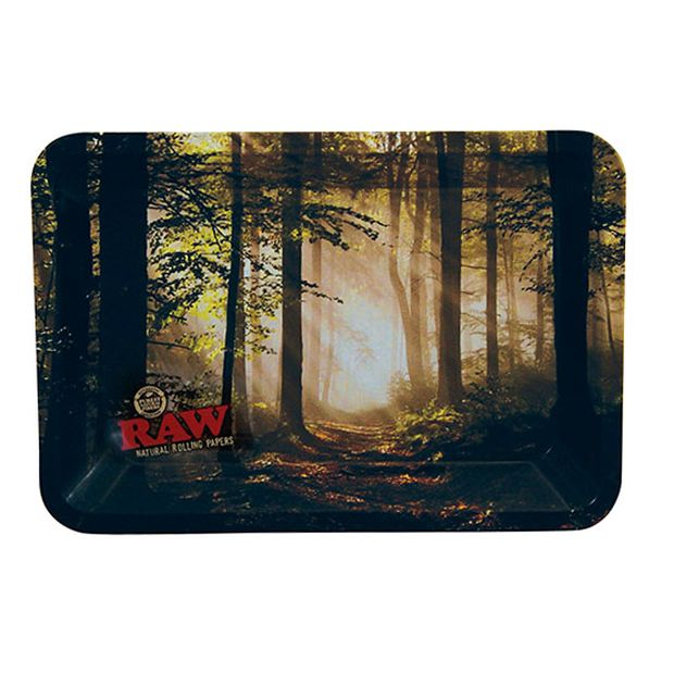 RAW Smokey Forest MINI Tray made of metal