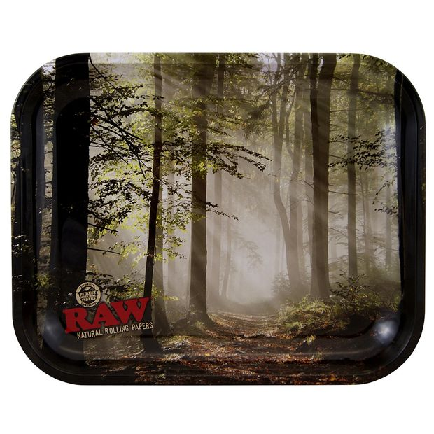 RAW Smokey Forest LARGE Tray made of metal