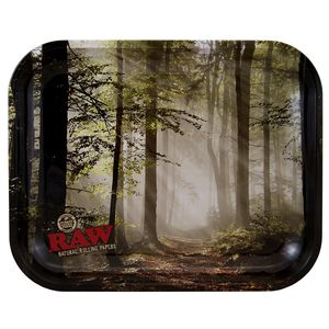RAW Smokey Forest LARGE Tray aus Metall