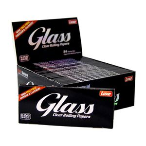 Glass Clear Rolling Papers, King Size Slim Blättchen aus...