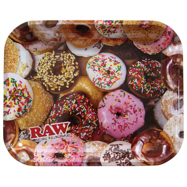 RAW Donut Tray LARGE, Rolling-Tray made of metal