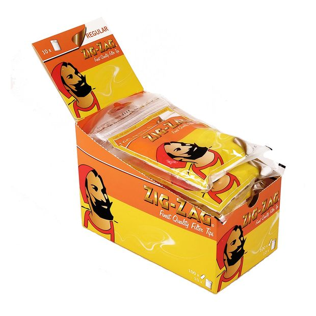 2 Boxen 150 pro Beutel ZIG-ZAG Menthol Slim Filter 6 mm Durchmesser 20 Beutel