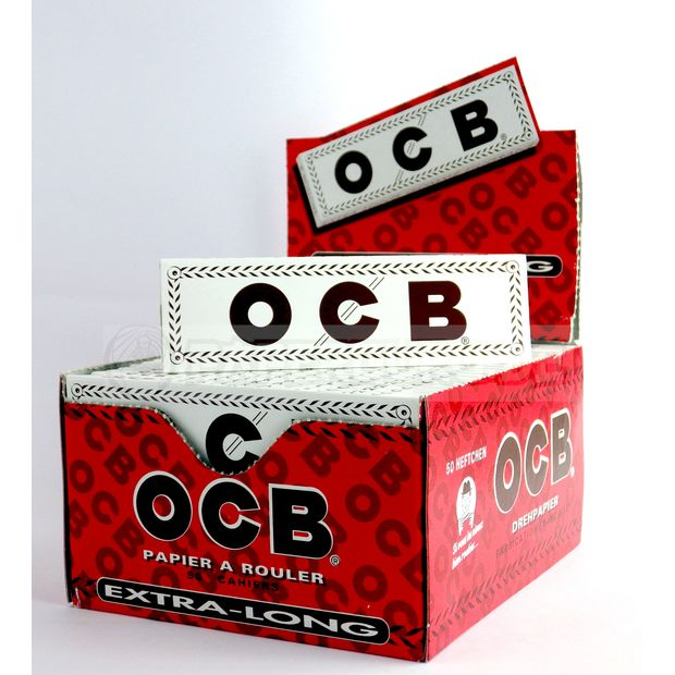 OCB White King Size Papers Extra Long