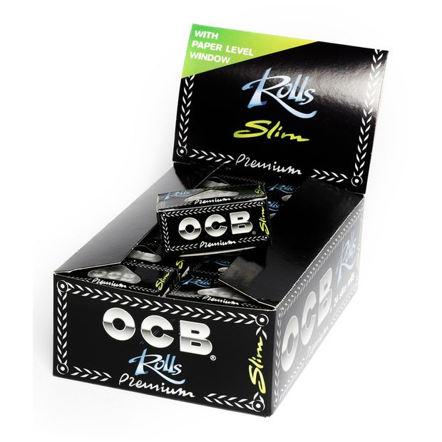 OCB Rolls Endlospaper Papers Blättchen Rolle Papel liar 1 Box (24 Rolls)