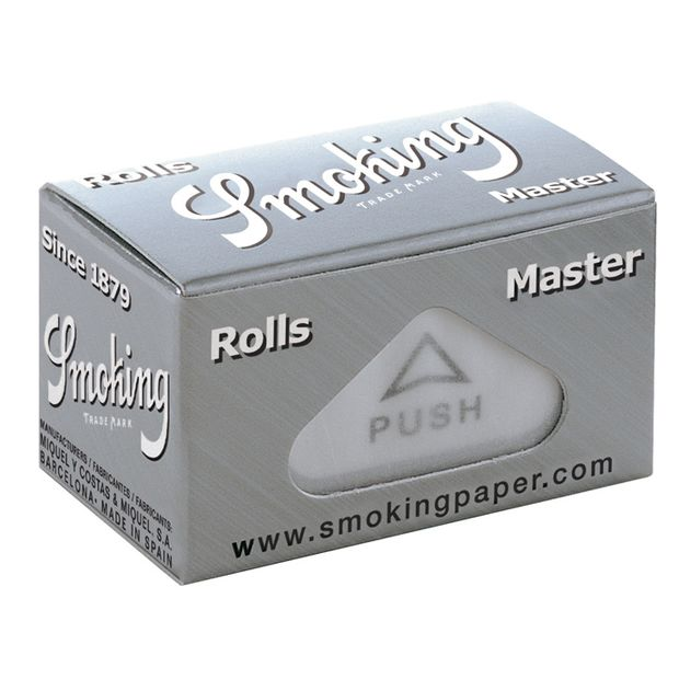 Smoking Master Rolls ultra slim Papers silver silber Rollen