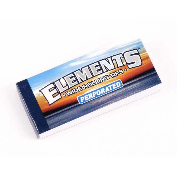 Elements breite Filter Tips wide King Size Filtertips perforiert