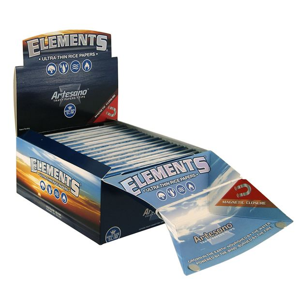 Elements Artesano King Size slim Tray + Papers + Tips...